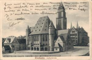Germany Wiesbaden Lutherkirche 02.68