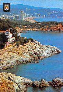 Spain Platja d'Aro Costa Brava Aerial view Beach Panorama Playa