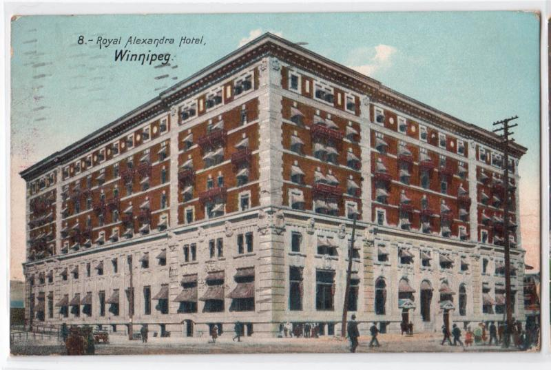 Royal Alexandra Hotel, Winnipeg Man