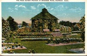 Connecticut Hartford Elizabeth Park The Rose Garden Pavilion