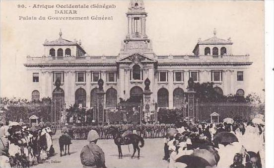 Senegal Dakar Palais du Gouvernement General