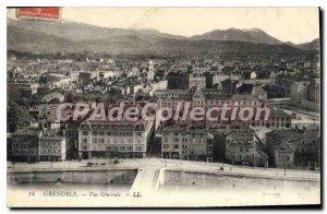 Old Postcard Grenoble Vue Generale