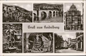 Gruss aus Heidelberg multi view Germany