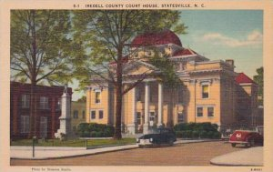 North Carolina Statesville Statesville Iredell County County Court House Albe...