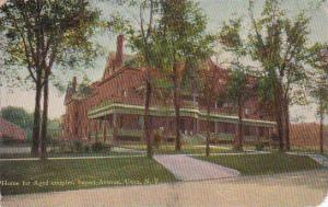 New York Utica Home For Aged Couples Sunset Avenue 1910