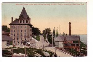 Mountain View Hotel and Incline Railway Station, Hamilton Ontario,