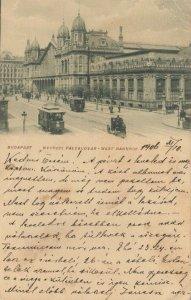 BUDAPEST, Hungary, 1911 ; Nyugoti Palyaudvar - West Bahnhof