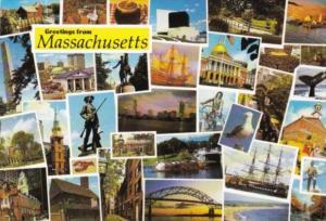 Greetings From Massachusetts Multi View