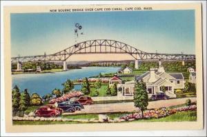 New Bourne Bridge, Cape cod Canal MA