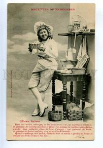 198288 RECIPES Actress COOK Kitchen Swiss cake Vintage PC