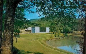 Auditorium Transylvania Music Camp Brevard NC  Postcard