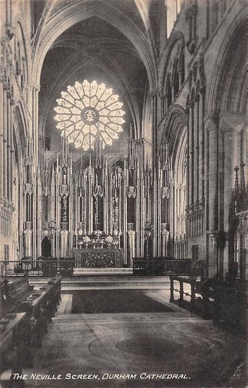 England Durham Cathedral, The Neville Screen 1923