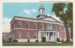 ATHENS , Georgia , 1910s ; U.of G. ; Law School