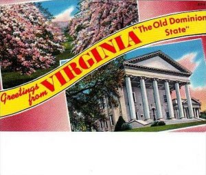 Virginia Greetings From