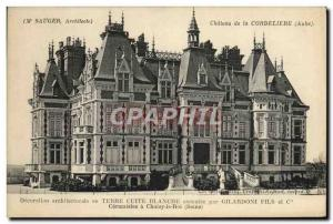 Old Postcard Chateau of Cordeliere