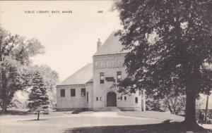 Public Library , BATH , Maine , 1930s
