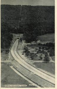PA - Pennsylvania Turnpike, Portal of Tuscarora Tunnel