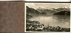 Switzerland - Mt. Rigi. Set of 12 RPPC's in bound booklet
