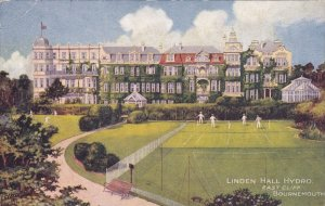 Linden Hall Hydro, East Cliff, Bournemouth, Hampshire, England, 1909 PU