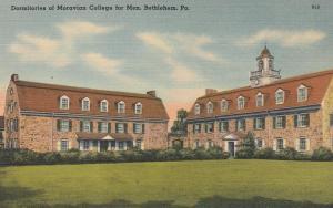 Moravian College Dormitories - Bethlehem PA, Pennsylvania - Linen