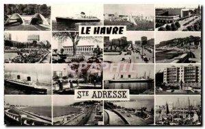 Old Postcard Le Havre Sainte Adresse
