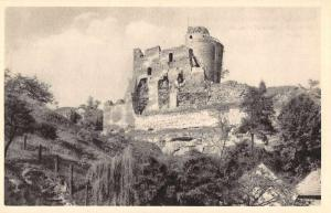 Czech Slovakia Michalovica Castle Ruins Scenic View Antique Postcard J77515