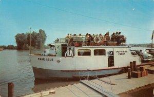 LP15 Steam Ship Port Clinton Ohio   Postcard