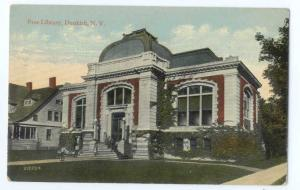 D/B Free Public Library in Dunkirk NY New York