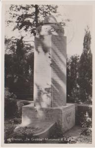 'DE GREBBE' MONUMENT 1940