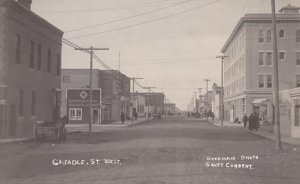 RP: Cheadle Street , West , SWIFT CURRENT , Saskatchewan , Canada , 1900-10s