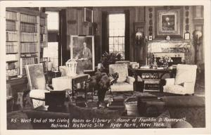 New York Hyde Park Library Franklin D Roosevelt Home Historic Site Real Photo