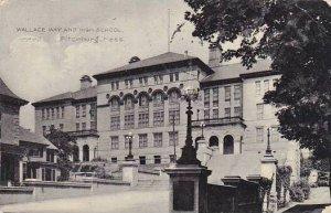 Massachusetts Fitchburg Wallace Way And High School1908