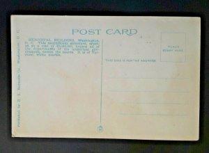 Mint Vintage Washington DC Municipal Building For All Departments 1920s Postcard