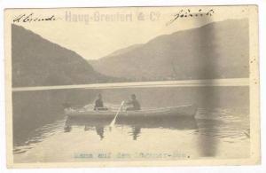 RP  ADV Boat Builder, Haug-Greutert & Co., Luganer-See, PU-1920