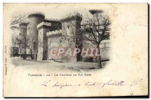 Old Postcard The Chateau Tarascon or Roi Rene