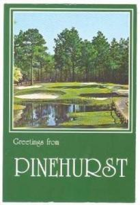 Pinehurst Southern Pines, Sandhills of North Carolina,  40-60s