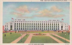 Minnesota Minneapolis New Post Office Curteich