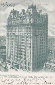 Exterior, Bellevue-Stratford Hotel, Philadelphia, Pennsylvania, PU-1906