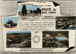CPM La Courtine Souvenir FRANCE (1050546)