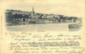 St Cloud, France, Carte, Postcard  St Cloud