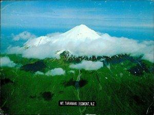 JD0005 new zeeland egmont mount taranaki volcano kiwifruit stamp airmail to wien