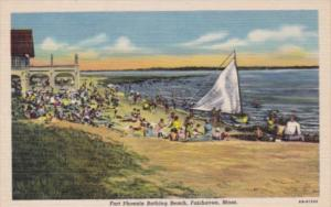 Massachusetts Fairhaven Fort Phoenix Bathing BeachCurteich