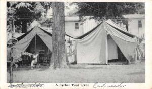 Mount Vernon Ohio Sychar Tent Scene Antique Postcard K73361