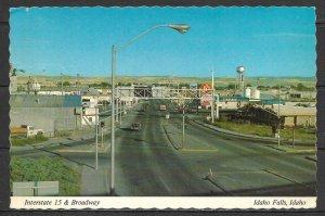 Idaho, Idaho Falls - Interstate #15 & Broadway - [ID-007X]