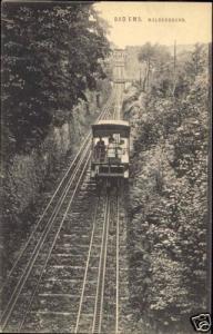 germany, BAD EMS, Malbergbahn, Train, Funicular (1910s)