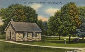 Old Camp School House Valley Forge PA Unused