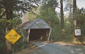 Ruffs Mills Covered Bridge, Cob County,Georgia,40-60s