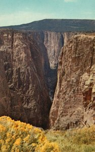 Black Canyon of the Gunnison Nat'l Monument, CO, Vintage Postcard g8382