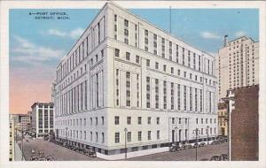 Michigan Detroit Post Office