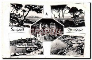 Postcard Old Littoral Mediterraneen Marseille Remembrance
